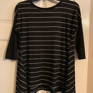Black piko tunic